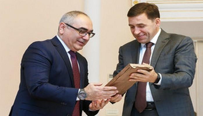 Генконсул Азербайджана обсудил с губернатором Свердловской области перспективы расширения сотрудничества