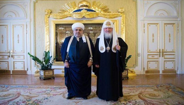 Аллахшукюру Пашазаде вручен орден Преподобного Серафима Саровского