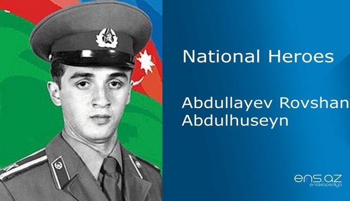 Abdullayev Rovshan Abdulhuseyn