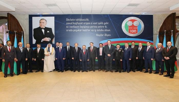 В Азербайджане отметили 100-летие создания спецслужб