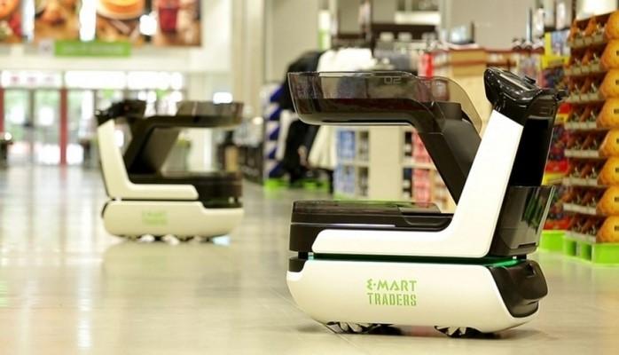 В Дубае представлены «умные» самоходные тележки