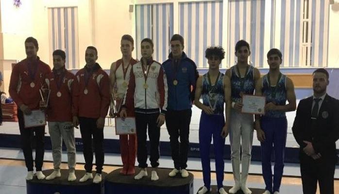 Азербайджанские гимнасты вернулись с медалями с международного турнира в России