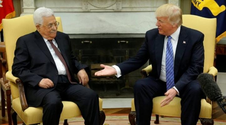 Mahmud Abbas Trampın danışıq istəyini rədd edib