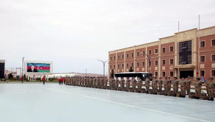 Əfqanıstandakı Azərbaycan sülhməramlılarının bir qrupu Vətənə qayıdıb