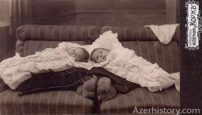 Дети на портретах бакинских фотографов в 1890-1917 гг. (ФОТО)