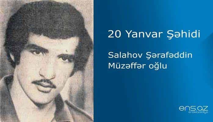Salahov Şərafəddin Müzəffər oğlu