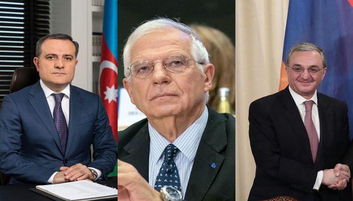 Aİ rəsmisi ilə Azərbaycan və Ermənistan XİN rəhbərləri arasında üçtərəfli telefon danışığı oldu