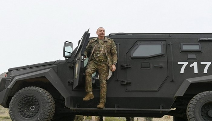 Ali Baş Komandan DSX-nin Zəngilanda yerləşən hərbi hissə kompleksində yaradılan şəraitlə tanış olub