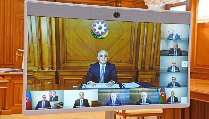 Состоялось первое заседание Экономического совета Азербайджана