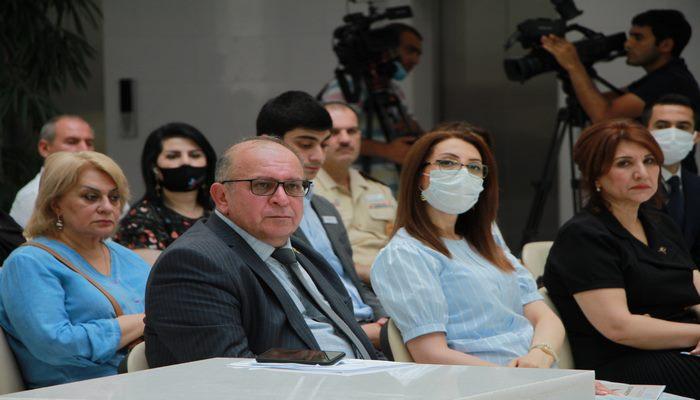 AMEA MEK-in Qarabağ müharibəsi qəhrəmanları fondunun rəsmi açılış mərasimi baş tutub