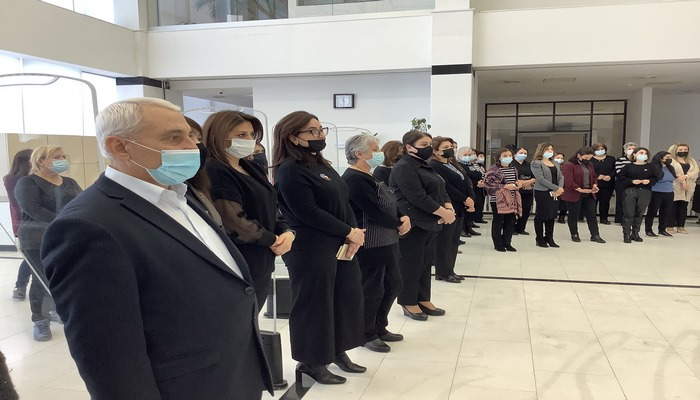 AMEA Mərkəzi Elmi Kitabxanasında Xocalı soyqırımı qurbanları anılıb
