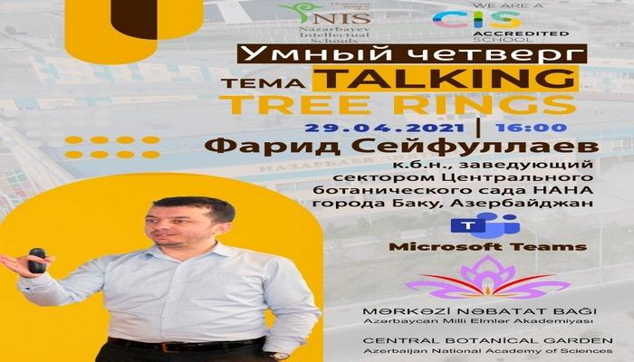AMEA Mərkəzi Nəbatat Bağı Nazarbayev məktəbinin şagirdləri üçün vebinar təşkil edib