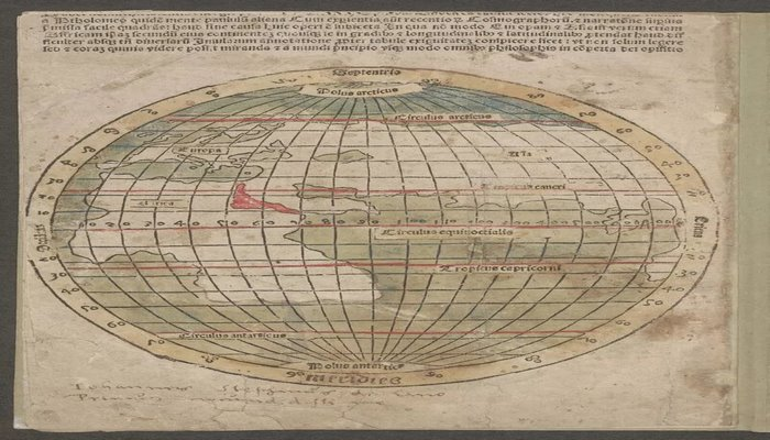 Ameriqo Vespuççinin xəritəsinin ilk bilinən nüsxəsi tapıldı