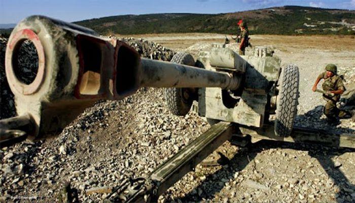 Армяне обстреляли село Ханлыглар Газахского района