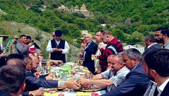 Azad Kəlbəcərdən bayram görüntüləri