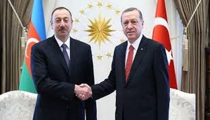 Azerbaycan Cumhurbaşkanı Aliyev'den Bakü'nün kurtuluşunun 102. yıldönümünü dolayısıyla Erdoğan'a...