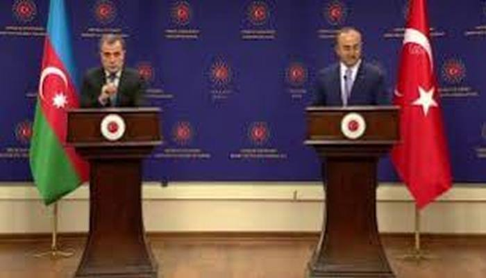 Azerbaycan Dışişleri Bakanı Bayramov, mevkidaşı Çavuşoğlu ile ortak basın toplantısında konuştu: