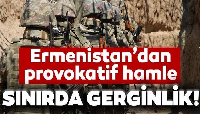 Azerbaycan-Ermenistan sınır hattında gerginlik! Ermeni güçler provokasyonlarını sürdürüyor
