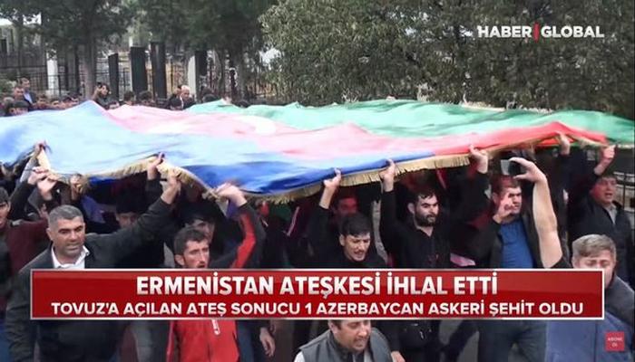 Azərbaycan – Ermənistan təmas xəttində baş verənlər Türkiyə mətbuatının gündəmində