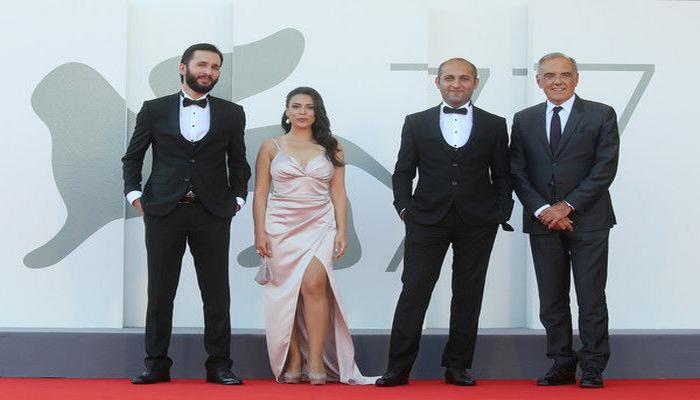Azərbaycan filminin yaradıcı heyəti 77-ci Venesiya Film Festivalının qırmızı xalçasında