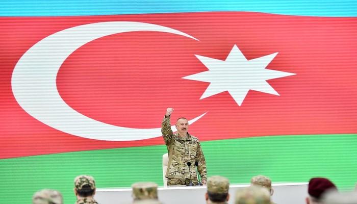 """Azərbaycan lideri: """"Bütün türk dünyası bizim qələbəmizlə fəxr edir"""""""