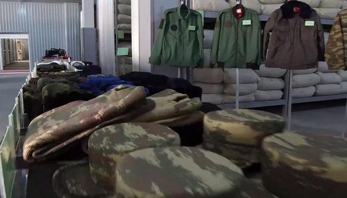Azərbaycan Ordusunun döyüşlərdə iştirak edən qoşunlarının təminatı yüksək səviyyədədir