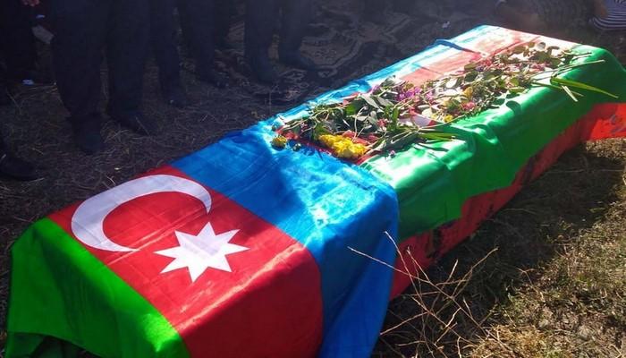 Azərbaycan ordusunun şəhid olan hərbi qulluqçusu dəfn edildi