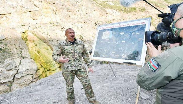 """Azərbaycan Prezidenti: """"Biz erməni ordusunu """"yenilməz ordu"""" kimi təqdim edən mifologiyaya son qoyduq"""""""