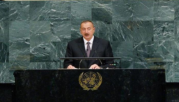 Azərbaycan Prezidenti BMT Baş Assambleyasının 75-ci sessiyasında çıxış edəcək