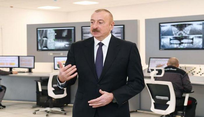Azərbaycan Prezidenti: Bu gün mənim fəaliyyətimdə Qarabağ bölgəsinin bərpası xüsusi yer tutur