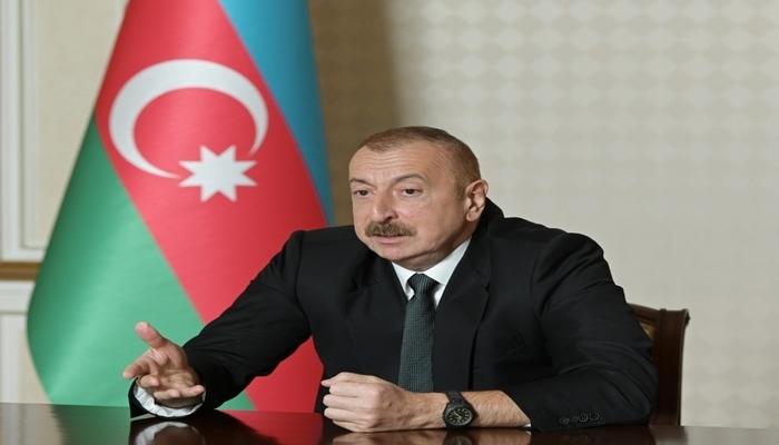 """Azərbaycan Prezidenti: """"Bu gün ümumiyyətlə Dağlıq Qarabağ ifadəsini işlətməməliyik"""""""