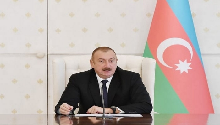 """Azərbaycan Prezidenti: """"Gəl bizimlə təkbətək vuruş, təkbətək, baxaq görək bunun axırı nə olacaq"""""""