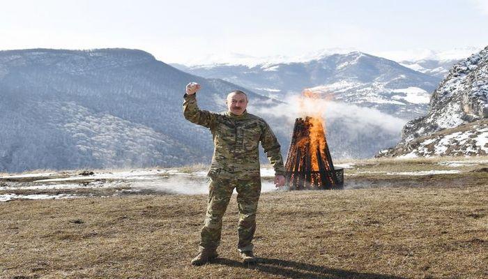 """Azərbaycan Prezidenti: """"Müharibədə əsas missiyanı mənim prezidentlik dövrümdə yetişən gənclər yerinə yetirib"""""""