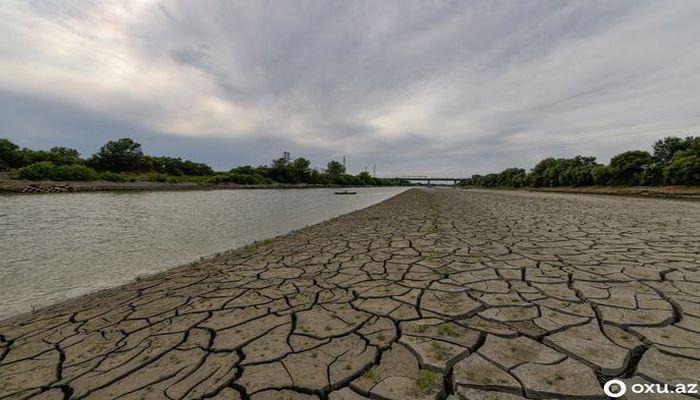 Azərbaycan sürətlə su qıtlığına doğru gedən ölkələr sırasındadır - RƏSMİ