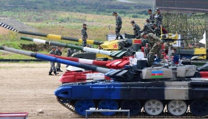Azərbaycan tankçıları beynəlxalq yarışda erməni tankını vurdu