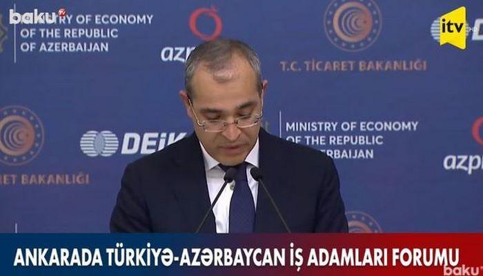 Azərbaycan-Türkiyə Birgə İnvestisiya Fondunun yaradılması təklif edilir