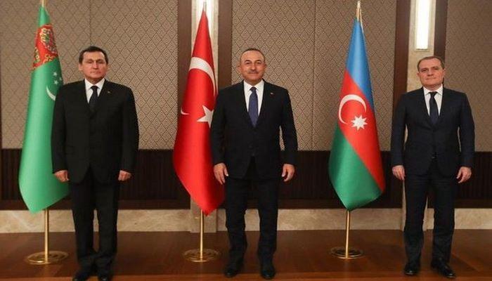 Azərbaycan, Türkiyə və Türkmənistan XİN başçılarının üçtərəfli görüşündən sonra BRİFİNQ - CANLI