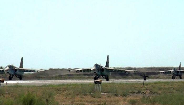 Azərbaycan və Türkiyə HHQ-nin qırıcıları təlim-məşq uçuşları keçirdi
