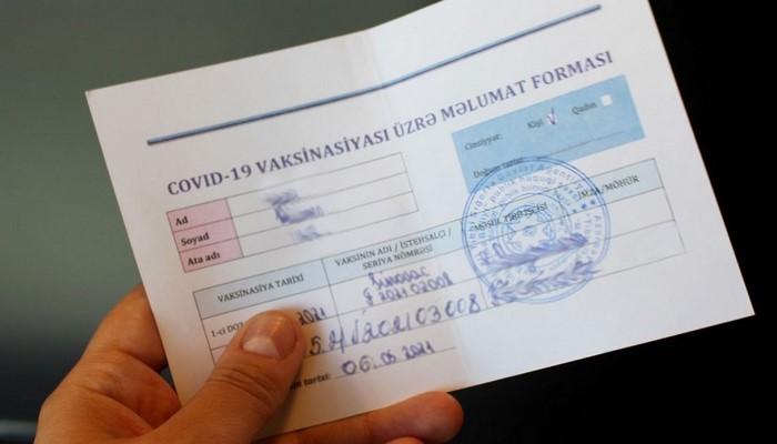 Azərbaycanda dövlət sosial xidmətlərindən yalnız COVID-19 pasportu olan şəxslər istifadə edə biləcək