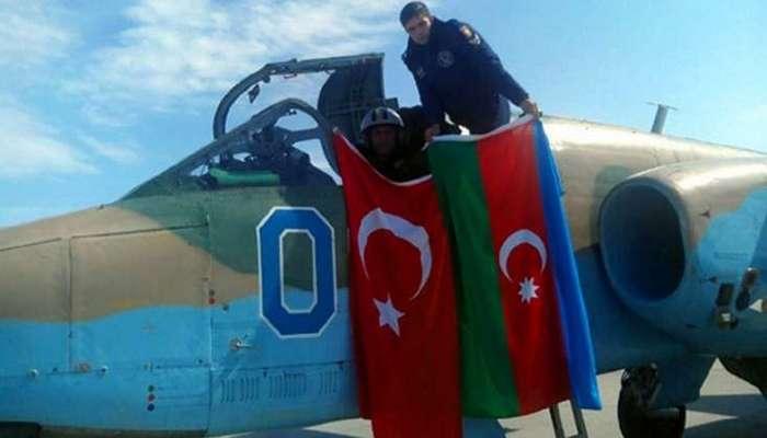 Azərbaycanla Türkiyənin qırıcları birgə havaya qalxdı