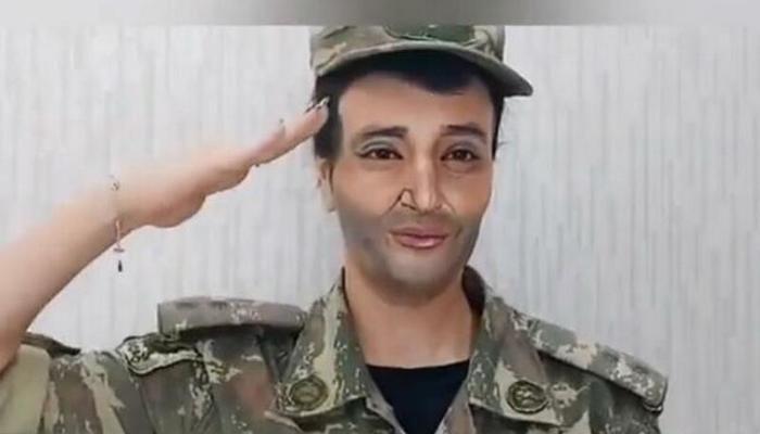 Azərbaycanlı xanım Polad Həşimovun obrazını yaratdı
