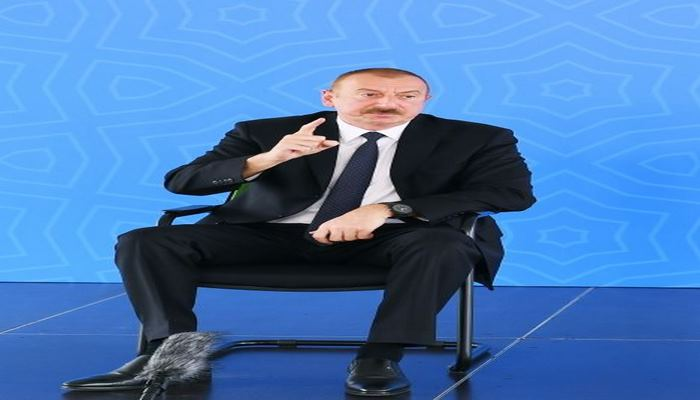 Азербайджан – сильное государство, в Азербайджане есть сильная власть, обладающая твердой волей, а самое главное - есть поддержка народа