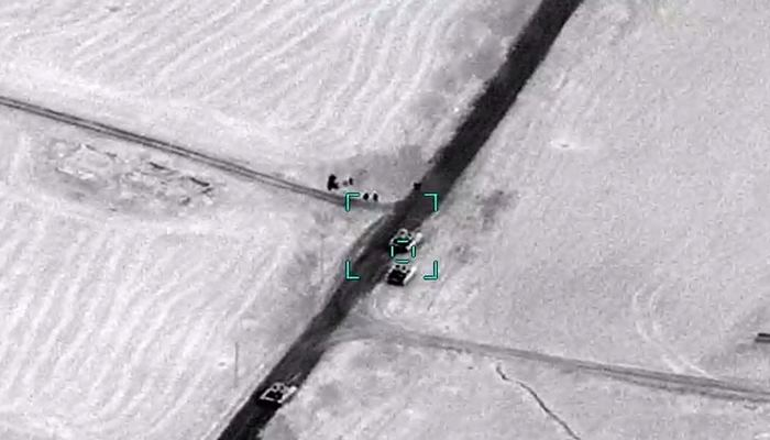 Азербайджанская армия  уничтожила еще два армянских танка