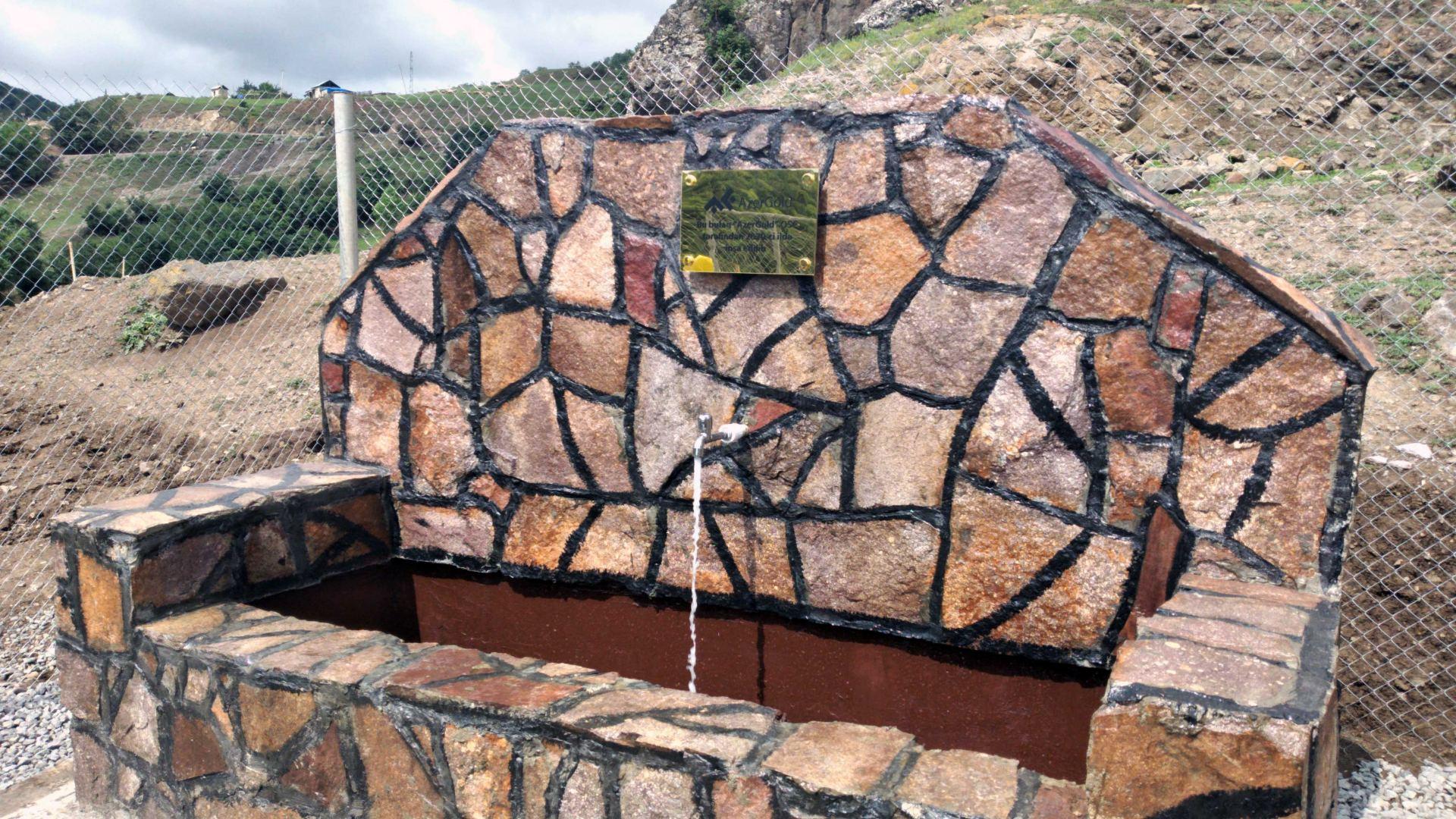 ЗАО AzerGold обеспечило несколько сёл в Азербайджане питьевой водой