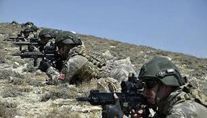 Azeri ve Türk özel kuvvetlerinden ortak tatbikat kapsamında stratejik noktalara taarruz