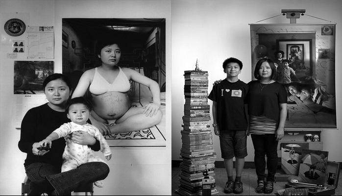 Güçlü Bir Annenin Oğluyla Birlikte Hazırladığı 17 Senelik Fotoğraf Projesi
