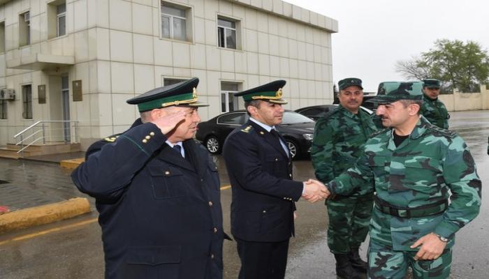 Глава ГПС проверил боевую деятельность органов пограничной обороны на границе с Россией