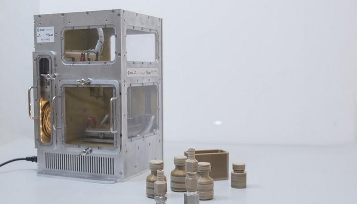 Avropalılar kosmik 3D printer hazırladılar