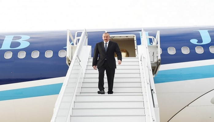 Президент Азербайджана Ильхам Алиев прибыл с официальным визитом в Хорватию