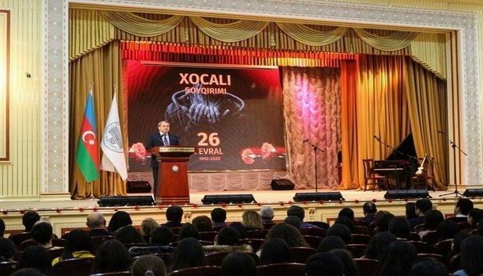 В БГУ почтили память жертв Ходжалинского геноцида